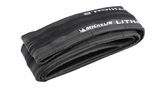 "Michelin Lithion 2 - Pneu - 28"" gris/noir"